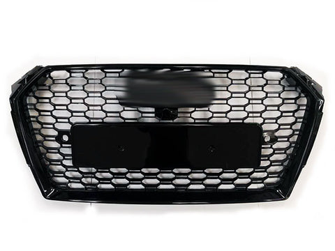 2017-2019 Audi A4/S4 B9 RS Style Front Grille