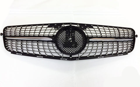2012-2014 Mercedes-Benz C Class Diamond Style Grille