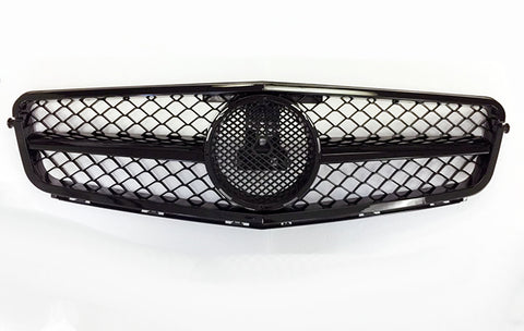 2012-2014 Mercedes-Benz C Class AMG Style Grille (Black)