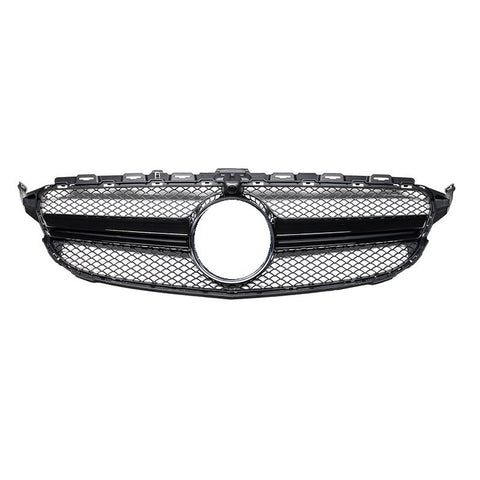 2015-2018 Mercedes-Benz C Class AMG Style Front Grille