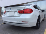 2014-2018 BMW F36 4 Series Gran Coupé Trunk Spoiler Performance Style (Carbon Fiber)