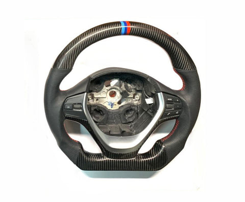 2012-2018 BMW F30 3 Series Steering Wheel M-Performance Style (Carbon Fiber)
