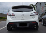 2010-2012 Mazda 3 Hatchback MP Style Dual Exit Rear Lip Diffuser