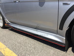 Universal Side Skirt Extensions Performance Style