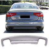 2013-2015 Audi A4 Base Model S4 Style Rear Diffuser