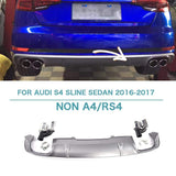 2016-2018 Audi A4 S-LINE S4 Style Rear Diffuser