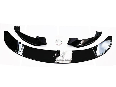 2014-2018 BMW F32/F33/F36 4 Series M-Performance Style Front Bumper Lip (Gloss Black)