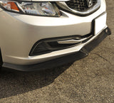 2013-2015 Honda Civic Sedan GT Style Front Bumper Lip