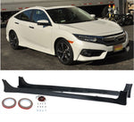 2016-2018 Honda Civic Sedan HFP Style Side Skirts