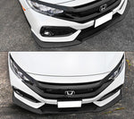 2016-2020 Honda Civic Hatchback AND Civic SI GT Style Front Bumper Lip