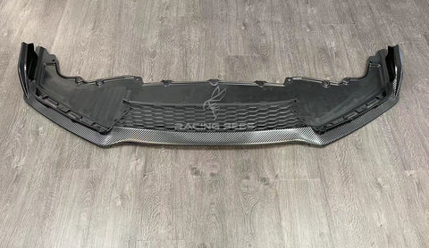 2016-2020 Honda Civic Si/Hatchback CTR Style Front Bumper Lip (Carbon Look)