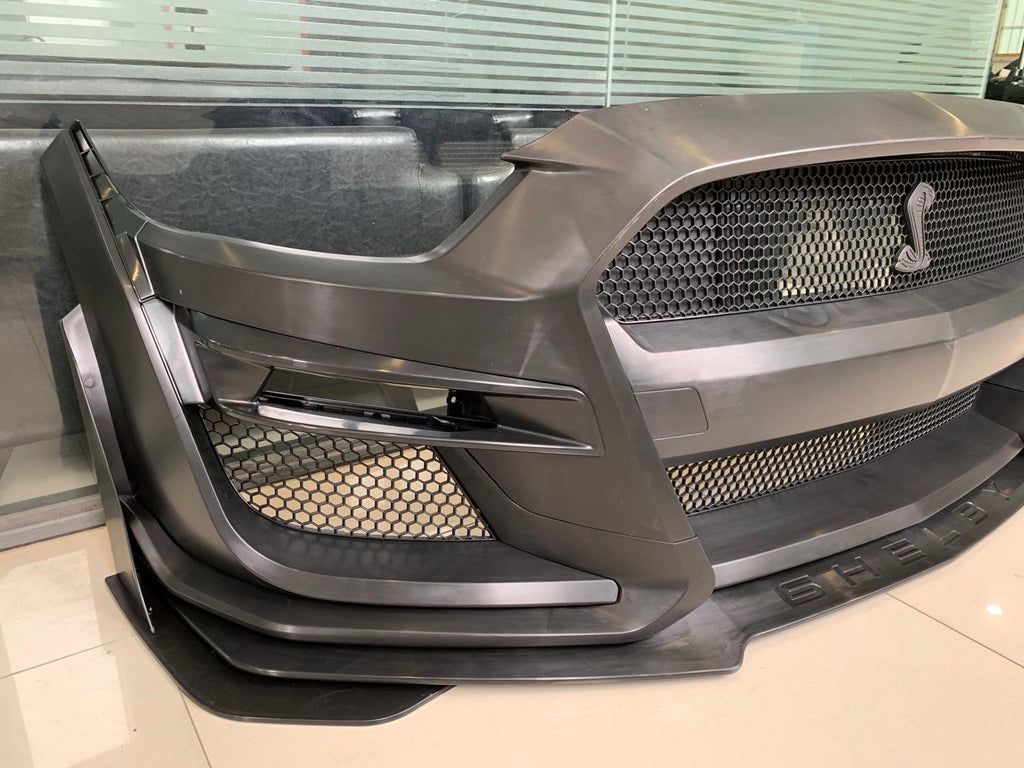 2015 2017 Ford Mustang Gt500 Style Front Bumper Conversion