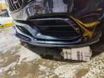 2015-2018 Mercedes-Benz C63 AMG Sedan/Coupe Edition 1 Style Front Bumper Lip (Carbon Fiber)