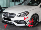 2017-2018 Mercedes-Benz A Class AMG Style Front Aero Kit