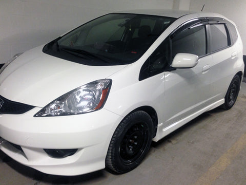 Window Visor Mugen style for 2009-2014 Honda Fit