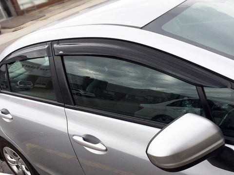 Window Visors for 2012-2015 Honda Civic 4Door Sedan