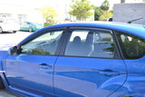 Window Visors for 2008-2014 Subaru Impreza WRX STi
