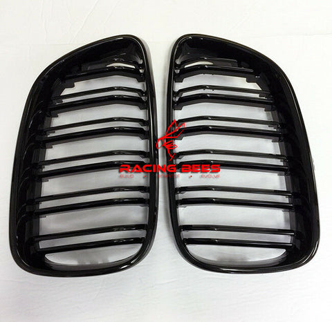2014-2018 BMW F22/F23 2 Series M Style Gloss Black Kidney Grilles