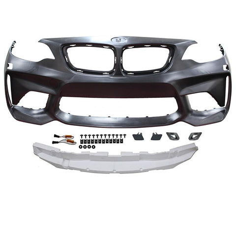 2014-2018 BMW F22/F23 2 Series M2 Style Front Bumper Conversion