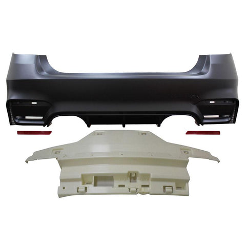 2012-2018 BMW F30 3 Series F80 M3 Style Rear Bumper Conversion
