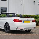 2014-2018 BMW F33 4 Series Convertible Trunk Spoiler Performance Style (Carbon Fiber)