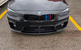 2012-2018 BMW F30/F32 3/4 Series M Style Front Bumper Lip FOR Replica M3/M4 Bumper
