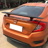 2016-2018 Honda Civic Sedan SI Style Trunk Spoiler