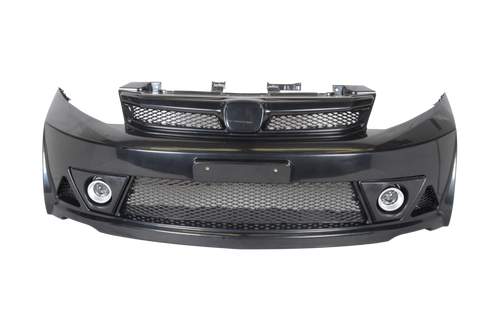2012-2013 Honda Civic Sedan Mugen RR Style Front Bumper Conversion
