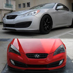 2010-2012 Hyundai Genesis Coupe RS Style Front Bumper Lip