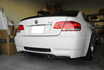 2008-2013 BMW E92 M3 2 Door HM Style Rear Diffuser (Carbon Fiber)