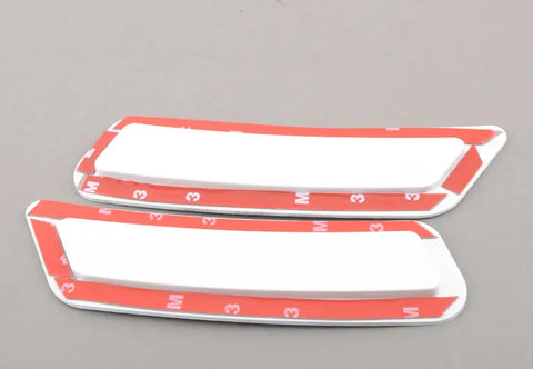 2015-2020 BMW F80/F82 M3/M4 Painted Front Bumper Reflectors (pair)