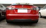 2012-2017 Tesla Model S Rear Carbon Fiber Trunk Spoiler OEM Style