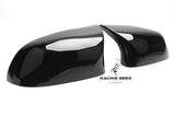 2014-2018 F25/F26/F15/F16 BMW X3/X4/X5/X6 Series M Inspired Style Mirror Caps (Black)