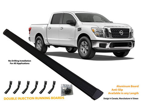 Running board for 2004-2015 Nissan Titan Crew Cab