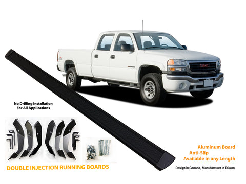 Running board for 1999-2006 GMC Sierra / Chevrolet Silverado 1500/2500/3500 Crew Cab