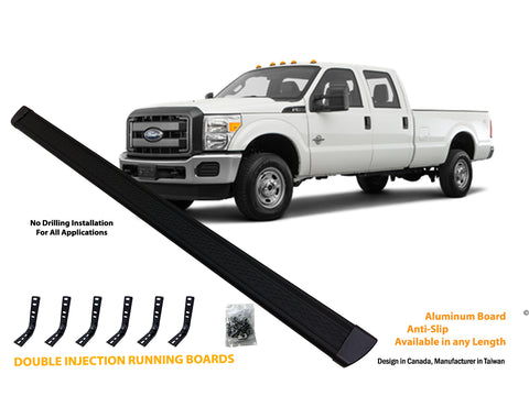 Running board for 99-16 Ford F250-F550 Crew Cab