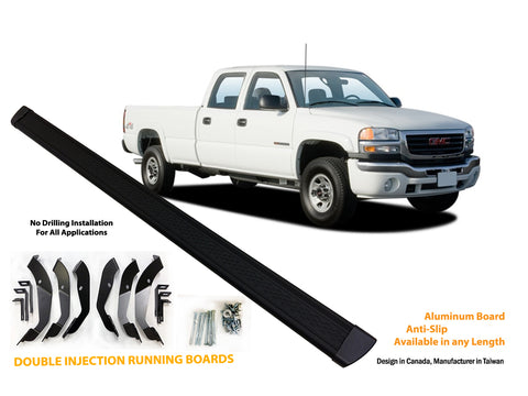 Running board for 1999-2006 GMC Sierra / Chevrolet Silverado 1500/2500/3500 Extended Cab