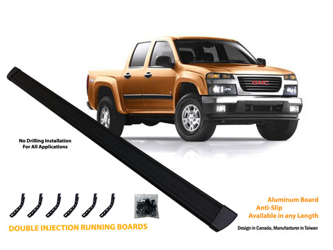 Running board for 2004-2014 GMC Canyon / Chevrolet Colorado Crew Cab