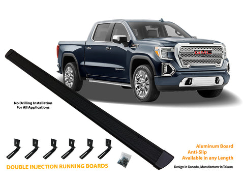 Running board for 2007-2018 GMC Sierra / Chevrolet Silverado 1500/2500/3500 Crew Cab