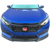 2016-2018 Honda Civic Performance Style Front Grille (Black)