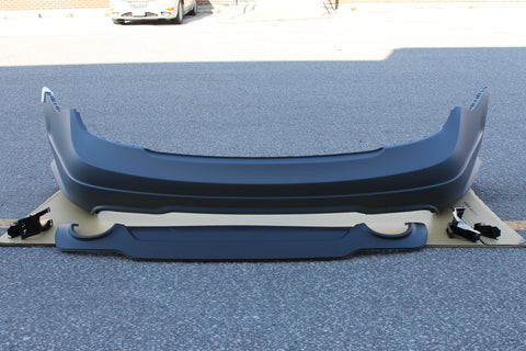 2012-2014 Mercedes-Benz C Class Sport Package Rear Bumper Assembly