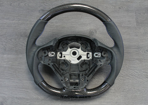 2012-2018 BMW F22/F23/F30/F32/F33/F36 3/4 Series Steering Wheel M-Performance Type 1 Style (Carbon Fiber)