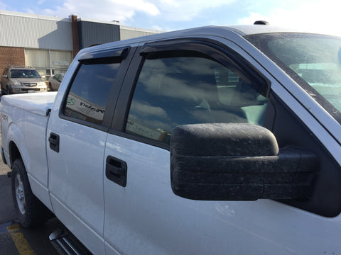 Window Visors for 2009-2014 Ford F150 Super Crew Cab