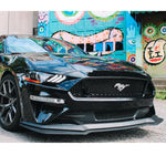 2018-2019 Ford Mustang GT Style Front Bumper Lip