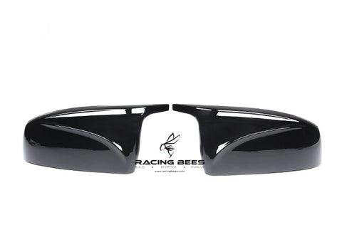 2008-2013 BMW E70/E71 X5/X6 Series M Inspired Style Mirror Caps (Black)