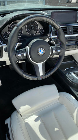 BMW F-SERIES 2,3,4 SERIES M2,M3,M4 Carbon Fiber Steering Wheel