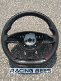 Mercedes-Benz C-CLASS CLA-CLASS Carbon Fiber Perforated Leather Steering Wheel