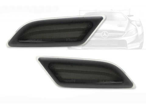 2012-2014 Mercedes-Benz C Class LED Side Marker Lights (Smoke/Clear)