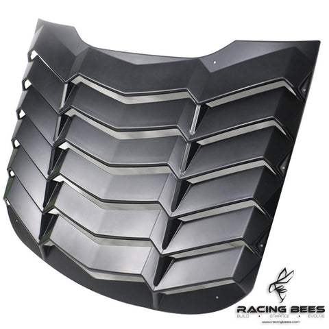 2015-2017 Ford Mustang K Style Rear Windshield Louver
