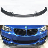 2014-2018 BMW F22/F23 2 Series EXO Style Front Bumper Lip (Carbon Fiber)